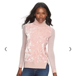 Juicy couture Velvet velour Long Sleeve Shirt Pink